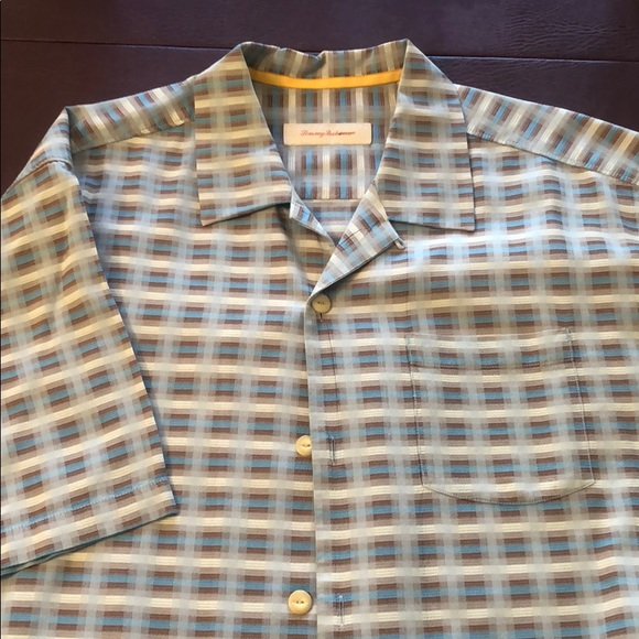 Tommy Bahama Other - Tommy Bahama Silk cotton blend XL Men's shirt
